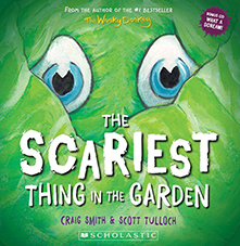 Scariest thing in the garden book cover